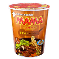 Mama Cup Instant Noodles 60gm ( each )