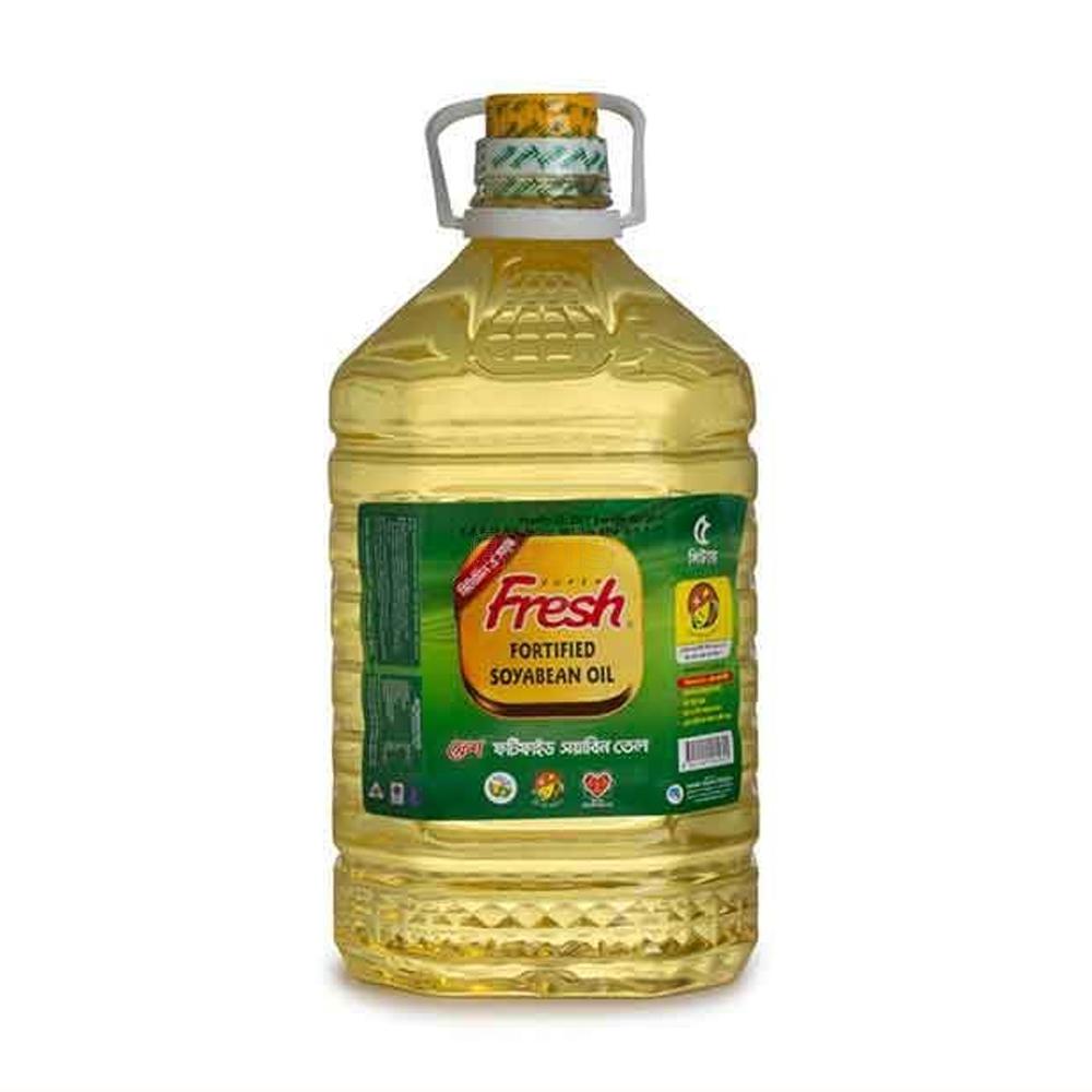 Fresh Soyabean Oil(5 Ltr)