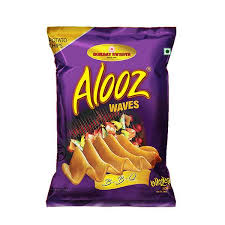 Alooz Waves B-B-Q Potato Chips 22 gm