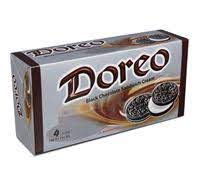 Danish Doreo Black Chocolate Sandwich Biscuit 320 gm