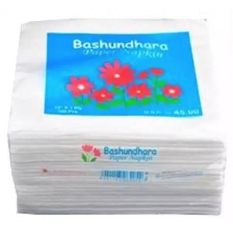 Bashundhara Paper Napkins 13″ Unscented (100 pcs)